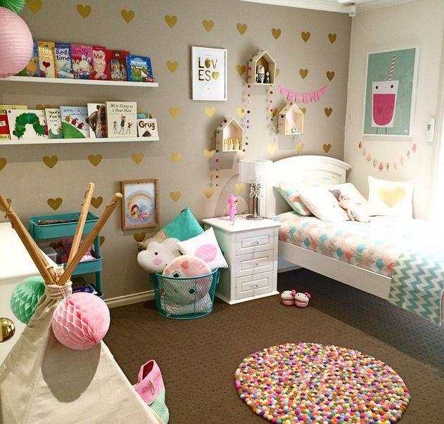 Nh ng ph ng ng c o d nh cho gia nh c b g i for 6 year girl bedroom ideas