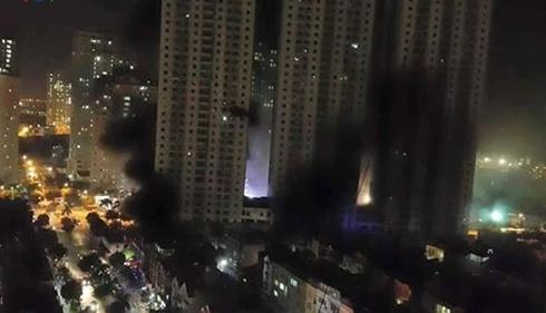 Questions raised after apartment fire in Hanoi