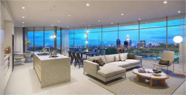 City Garden- Only $210K for 2BR apartment, 108 sqm. Earn high monthly rental $1,600