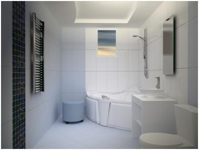 Trần thạch cao phòng tắm