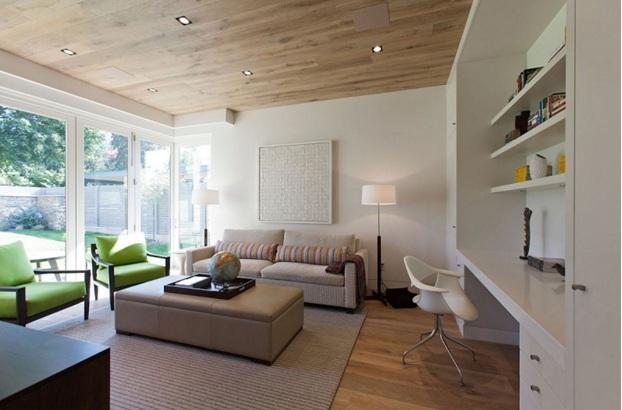Trang trí phòng khách theo phong cách hiện đại