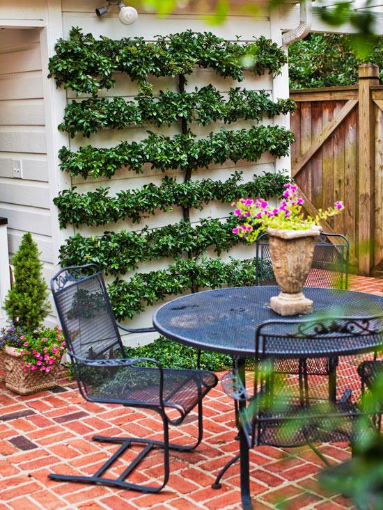 Sân vườn đẹp mà tiết kiệm với các mẹo trang trí hay