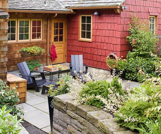sân vườn đơn giản