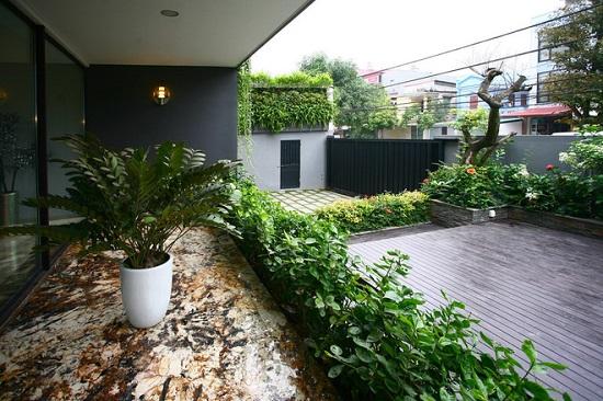 không gian xanh cho nhà phố