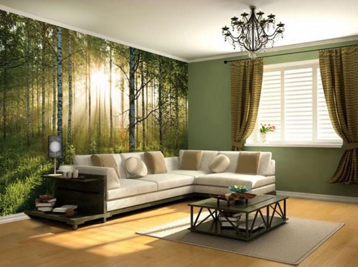 tranh tường phòng khách