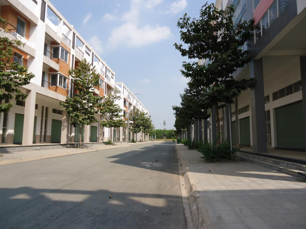 Những con đường trong thành phố mới