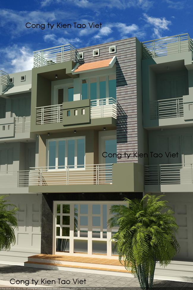Nhà nghỉ 3 tầng đơn giản