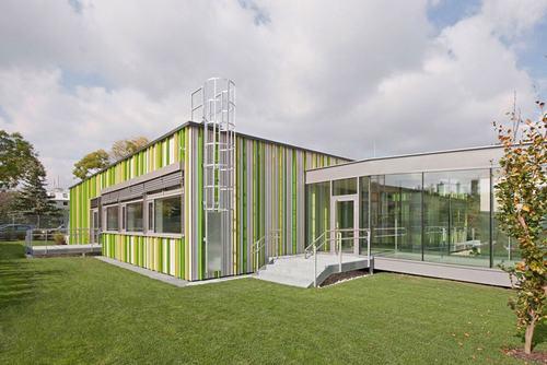 Thiết kế liền mạch ấn tượng của ngôi trường tại Vienne