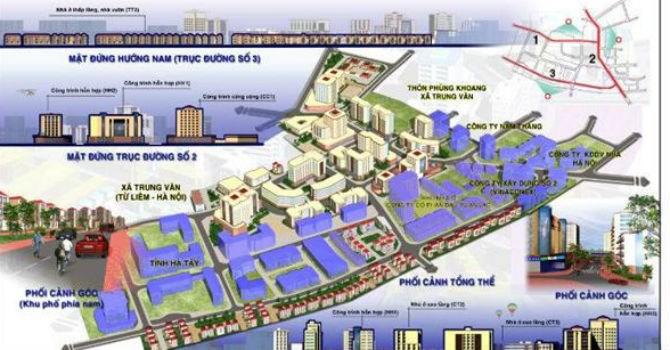 Hà Nội: Điều chỉnh quy hoạch tỷ lệ 1/500 khu vực Ngòi - Cầu Trại