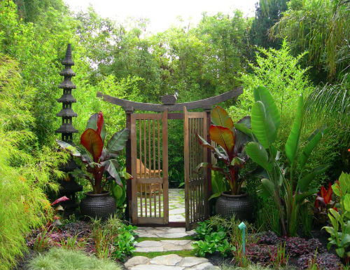 khu vườn kiểu Nhật