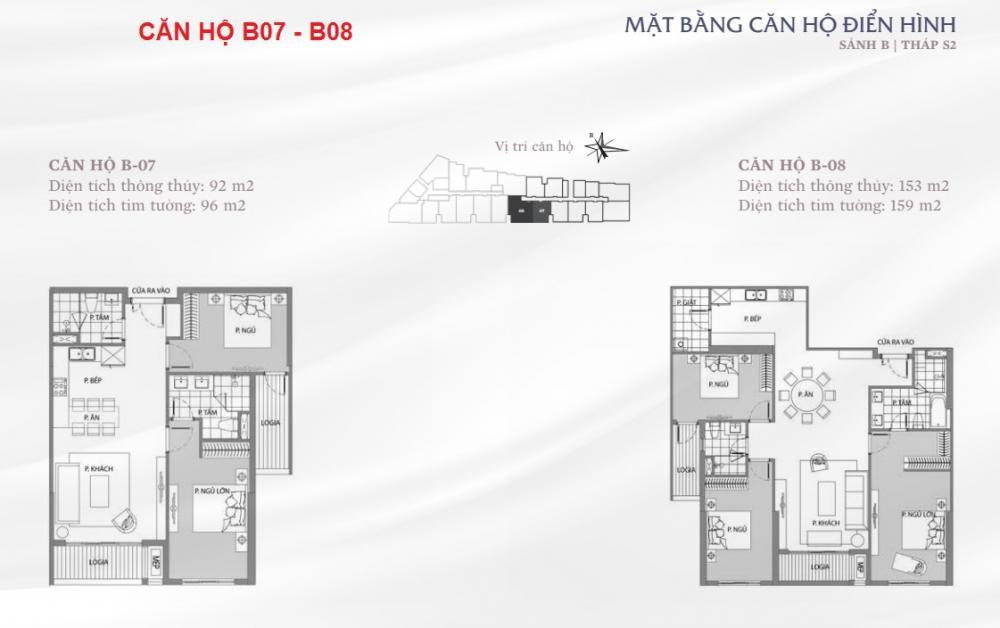 Thiết kế căn hộ B07-B08 Sun Grand City