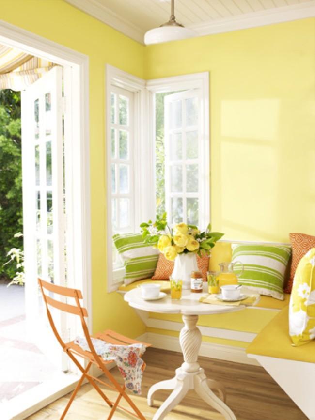 Màu vàng nắng