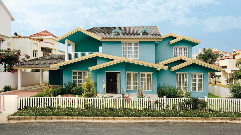 màu sơn nhà