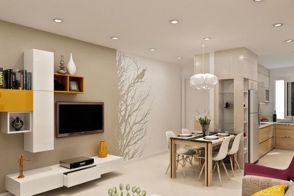 Trang trí nhà dùng giấy dáng tường