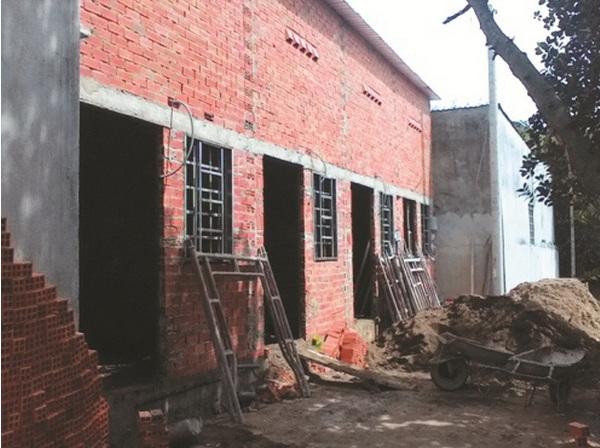 nhà trọ xây sai phép