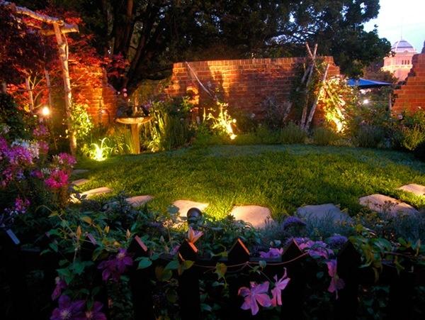 trang trí vườn