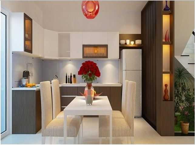 phòng ăn nhà 3 tầng