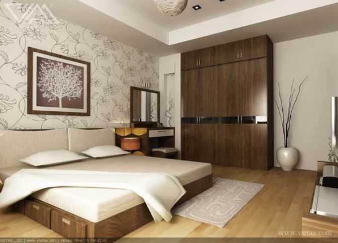 Nội thất phòng ngủ nhà ống đẹp 3 tầng