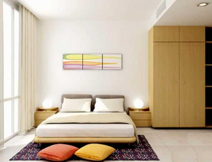 phòng ngủ tươi sáng nhà đẹp 3 tầng