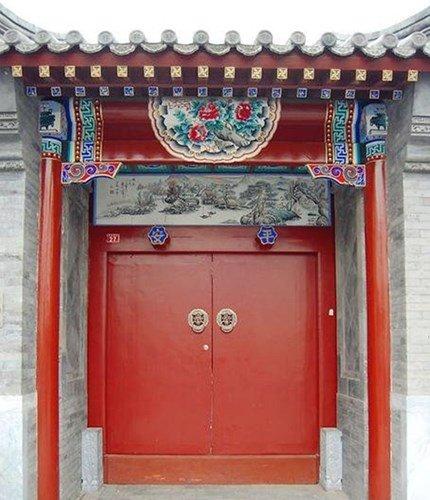 màu sắc cửa chính theo phong thủy