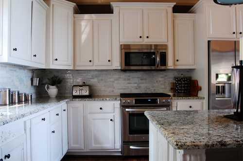 bố trí không gian bếp