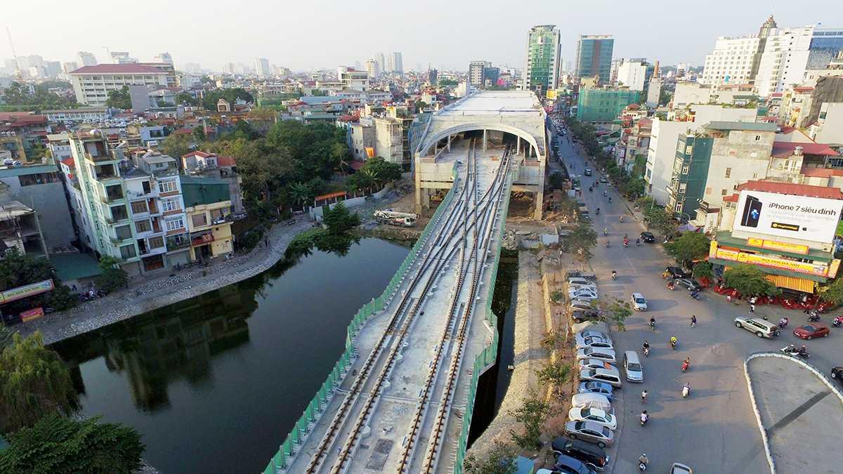 nhà ga Cát Linh