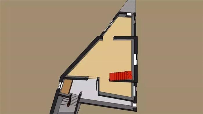 nhà trên đất hình tam giác