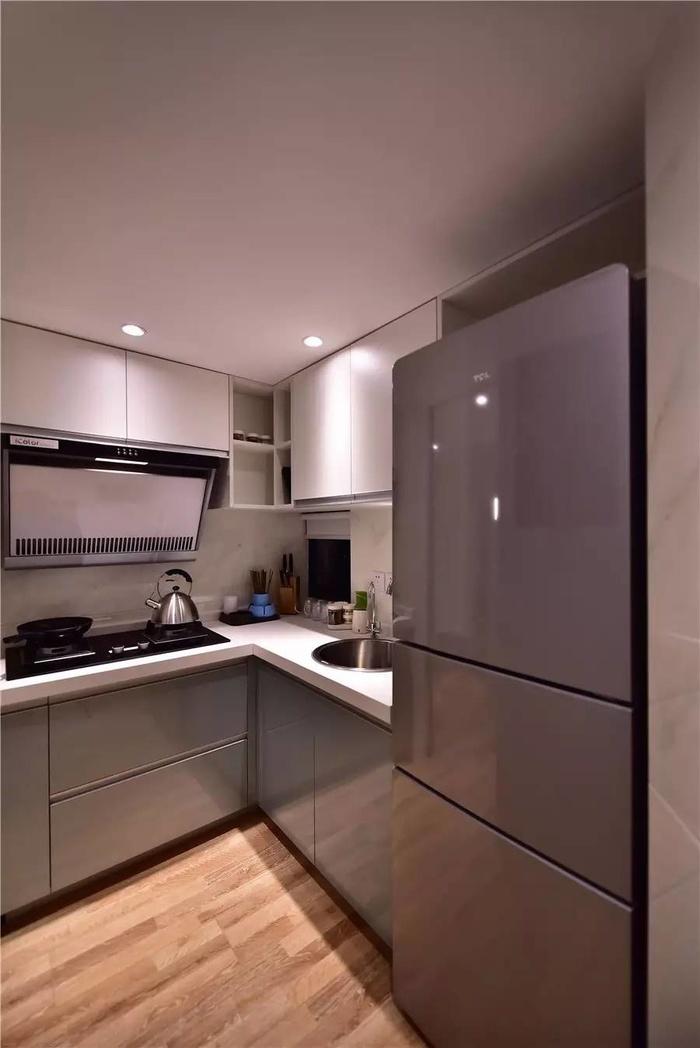 Căn bếp có diện tích nhỏ