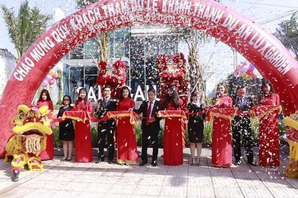 Tập đoàn Đất Xanh tưng bừng khai trương căn hộ mẫu dự án LuxGarden