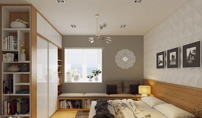 Phòng ngủ chung cư Green House Việt Hưng