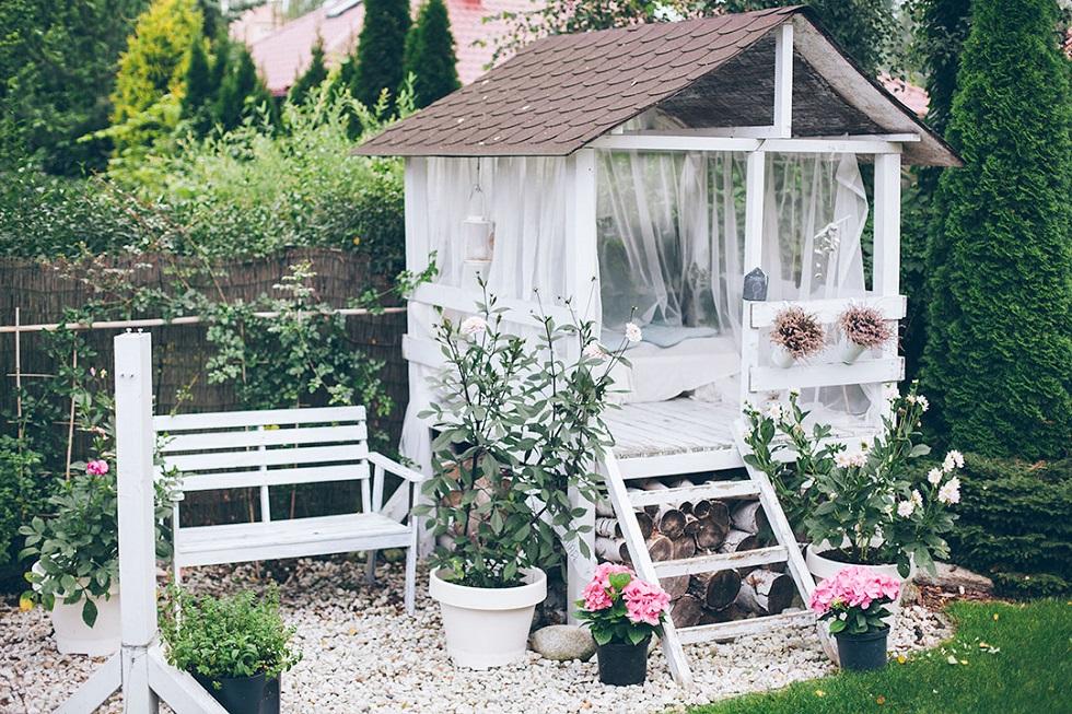 khu vườn lãng mạn
