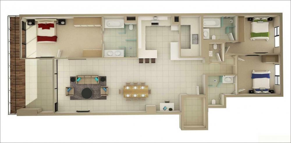 nội thất căn hộ đẹp