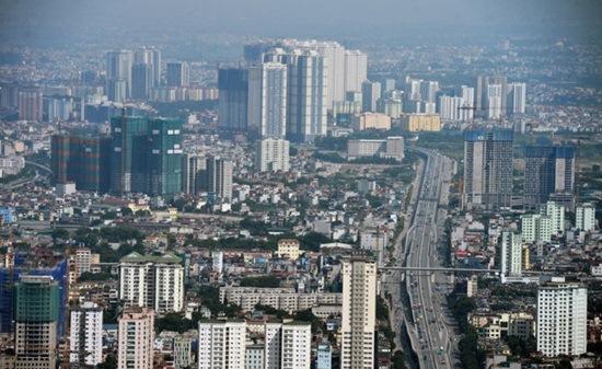 điều chỉnh tăng chiều cao, mật độ các tòa nhà