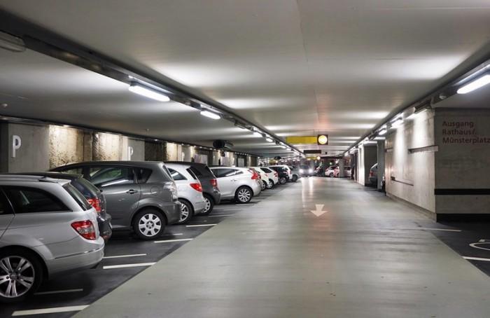 bãi đỗ xe ngầm