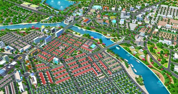 Phối cảnh tổng thể dự án Mega City