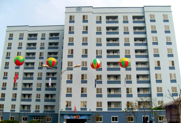 nhà ở xã hội tại Yên Sở