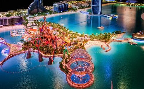 """Dubai sẽ xây dựng """"siêu đảo nhân tạo"""" 1,72 tỷ USD"""