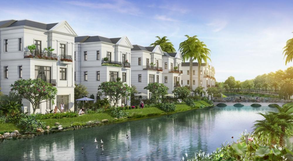 biệt thự ven sông hút giới nhà giàu Sài Gòn