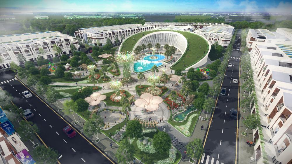 Quy hoạch tổng thể Gaia City