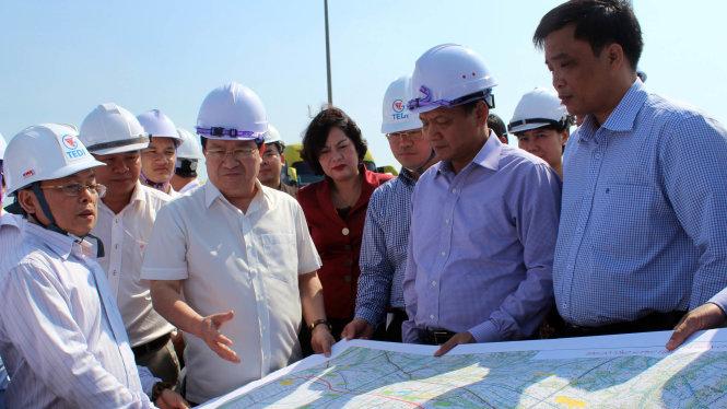 dự án xây đựng đường cao tốc