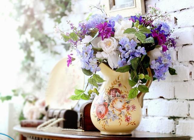 Vị trí đặt bình hoa trong nhà mang lại vận may