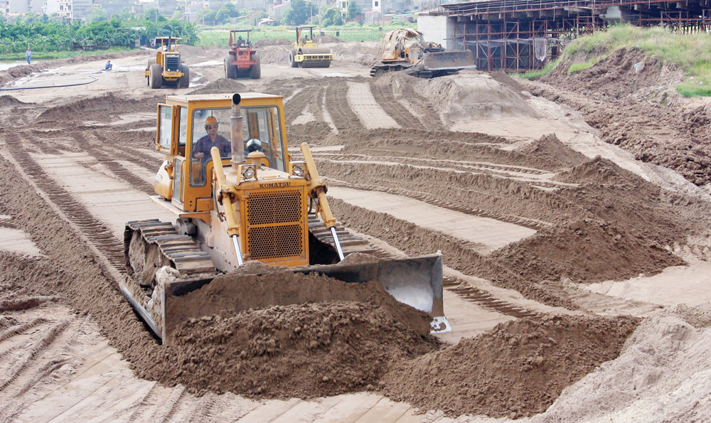 Giá cát xây dựng