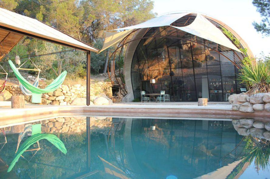 Ngôi nhà nghỉ dưỡng hình vỏ ốc cho người yêu thiên nhiên
