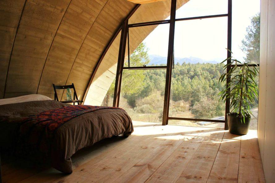 nhà nghỉ dưỡng hình vỏ ốc