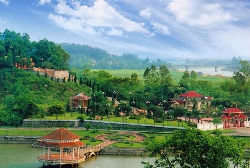 quần thể du lịch sinh thái Xuân Thành