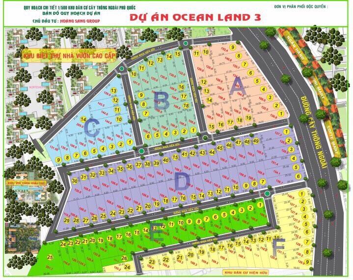khu dân cư Ocean Land Phú Quốc