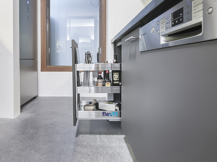 cách sử dụng tủ bếp