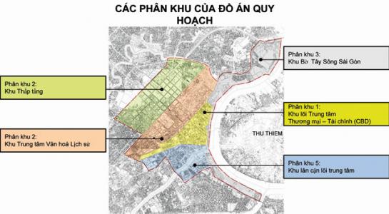 Nghiêm cấm điều chỉnh quy hoạch sang chức năng ở tại trung tâm Tp.HCM