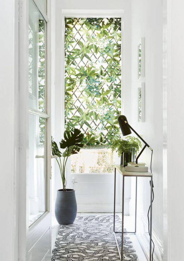 màu xanh lá cây trong trang trí nhà