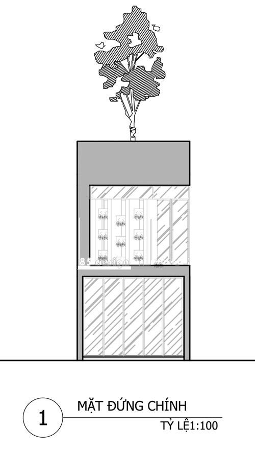 sơ đồ thiết kế nhà